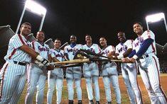 """El """"Dream Team"""" de 1995 del equipo de Puerto Rico en la serie del caribe que incluyó a Edgar Martínez, Carmelo Martínez, Rey Sánchez, Carlos Delgado, Juan """"Igor"""" González, Carlos Baerga, Rubén Sierra y Roberto Alomar."""