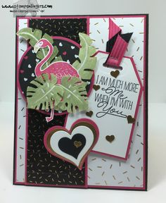 Pop of Pink Paradise 1 - Stamps-N-Lingers