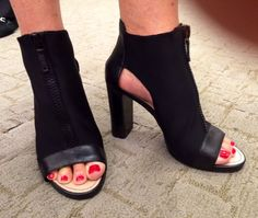 Loved these in the Donna Karan store in NY & didn't have my size but did at Macys ! ..Mine ! ..