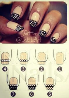 For a lady Nails