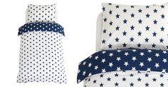Navy Star Duvet Cover Set - Toddler