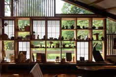 View of George Nakashima woodworker's interior in New Hope, Pa. PHOTO: ELIZABETH FELICELLA/THE JAPAN AMERICA SOCIETY OF GREATER PHILADELPHIA