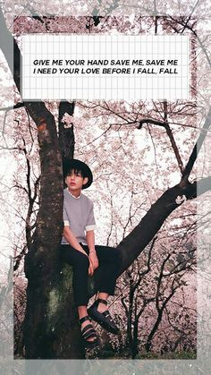 BTS / Taehyung / Save ME / Wallpaper