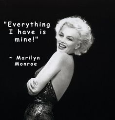 Marilyn Monroe Quotes | MM 1958 | REAL Marilyn Monroe Quotes