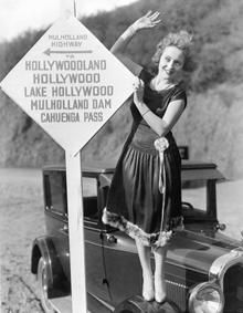 Road signs to Hollywood, California History, Vintage California, California Love, Southern California, Hollywood Sign, Vintage Hollywood, Classic Hollywood, Las Vegas, City Of Angels