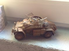 And German armored cars