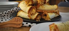 Hands down the absolute best cheesy snack you can eat! Adding fried Free Range Danish Bacon to the filling in this recipe can only bring more happiness. Sticky Pork Ribs, Cheese Roll Recipe, Bacon Roll, Cheese Rolling, Free Range, Savory Snacks, Finger Foods, Rolls Recipe, Finger Food