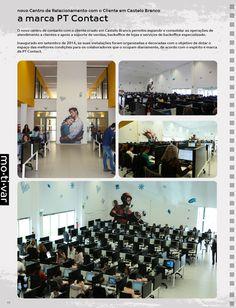 Decoração de espaços: Call Center em Castelo Branco