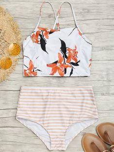 Shop trendy fashion swimwear online, you can get sexy bikinis, swimsuits & bathing suits for women on ZAFUL. Bathing Suits For Teens, Summer Bathing Suits, Swimsuits For Teens, Cute Bathing Suits, Summer Suits, Cute Swimsuits, Cute Bikinis, Two Piece Swimsuits, Bikini Sets