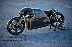 Lotus C-01 Motorrad : High-Tech Performance im Retro Design | Studio5555