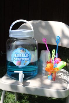 Bubble Guppies Under the Sea Party Ideas