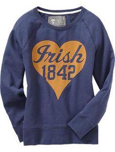 Women's College Team Sweatshirts