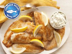 Recipes - Exclusive,Main Courses - Crispy Fish with Our Favourite Sauce - Kraft First Taste Canada