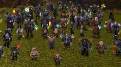 Playable races of World of Warcraft...