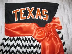Custom Game Day Dress (College, NFL, Any Sport) using YOUR tee shirt, mailed to me  Love this but needs to be Texas state and maroon