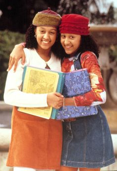 '90s TV Stars: Then & Now: Tia and Tamera Mowry: Then (Us weekly)