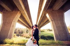 Beautiful couple, unique location    Edmonton Wedding Photographers - fmphotostudios Photo Location, Beautiful Couple, Photographers, Wedding Photography, Weddings, Unique, Wedding Shot, Bodas, Hochzeit