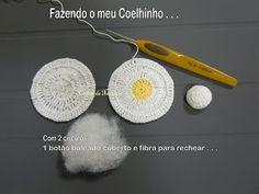 COELHINHO DE CROCHÊ 1   /   CROCHET FOR BUNNY 1