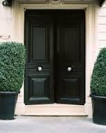 black double front doors - Google Search