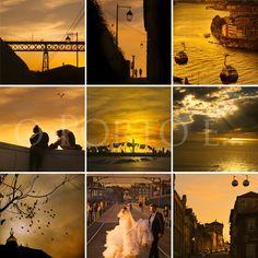 o Porto é... romance ao entardecer