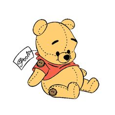 winnie the pooh Disney And Dreamworks, Disney Pixar, Disney Characters, Cute Disney Wallpaper, Cute Cartoon Wallpapers, Disney And More, Disney Love, Disney Drawings, Cute Drawings
