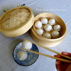Bao, Felt Crafts, Needle Felting, Serving Bowls, Tableware, Dinnerware, Dishes, Felting, Bowls