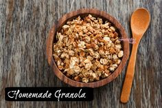 For breakfast, think outside the box with this easy to make granola recipe!~The Homesteading Hippy #homesteadhippy #fromthefarm #recipes