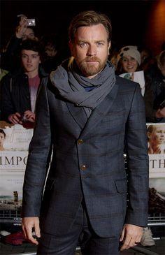 Ewan McGregor-The Impossible Premiere London