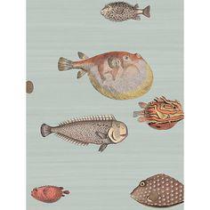 Cole & Son Acquario Wallpaper, 97/10030