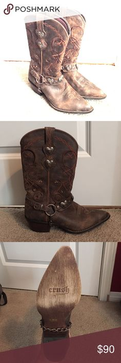 Selling this Durango HeartBreaker Cowgirl Boots on Poshmark! My username is: natalmorrow. #shopmycloset #poshmark #fashion #shopping #style #forsale #Durango #Shoes