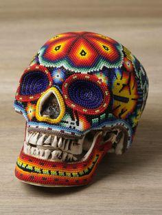 Beaded skulls!