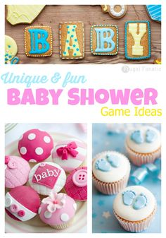 You and your guests will love these unique baby shower game ideas!