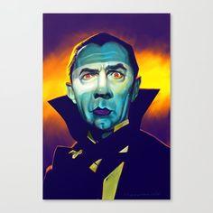Bela Lugosi as Dracula by Mark Hammermeister Monster Art, Arte Horror, Horror Art, Lugosi Dracula, Beetlejuice, Arte Punk, Ange Demon, Horror Monsters, Famous Monsters