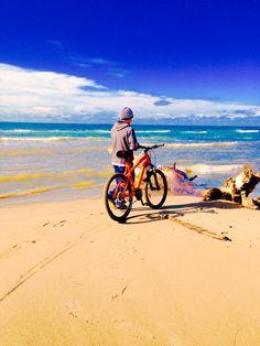 Bike on The sand