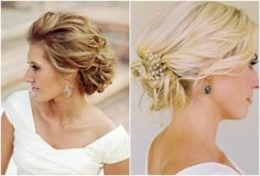 romantic wedding hairstyle - wedding updo - Percy Handmade   Wedding Hair Accessories, Wedding Garters and Bridal Headpieces