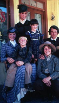 Miss Plum, Jenny, John, Sarah, Jeb and Jason.