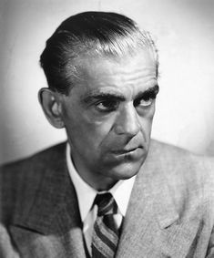 """""""When I was nine I played the demon king in Cinderella and it launched me on a long and happy life of being a monster."""" - Boris Karloff"""