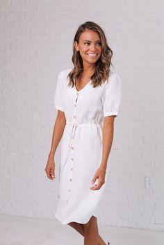 El Dorado Linen Dress