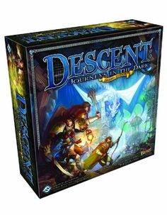Descent: Journeys in The Dark Second Edition - http://geekarmory.com/descent-journeys-in-the-dark-second-edition/