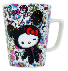 Hello Kitty Tokidoki Cup