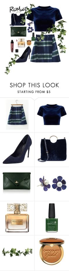 """""""Untitled #80"""" by elziradzinic ❤ liked on Polyvore featuring Kendall + Kylie, LC Lauren Conrad, Vivienne Westwood, Givenchy, CND, Too Faced Cosmetics and Wet n Wild"""