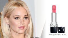 What lip product was Jennifer Lawrence wearing at the Oscars 2016