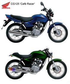 Before and after motorcycle transformation Cg 125 Cafe Racer, Cafe Racer Honda, Cafe Racer Bikes, Cafe Racer Motorcycle, Tracker Motorcycle, Moto Bike, Scooters, Carros Lamborghini, Yamaha Bikes