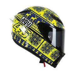 AGV Corsa Wintertest 2015 Valentino Rossi helmet: http://www.championhelmets.com/en/agv-corsa-wintertest-2015-valentino-rossi-helmet-l.html
