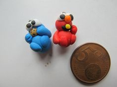 Cookie Monster: Whoa look what happened  Elmo:what?!?!? Cookie Monster:I pooped out a penny  Elmo:Whoa! Lets eat it! Cookie Monster:Ya
