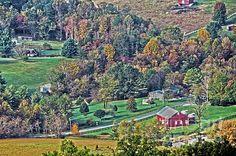 Title  Fall In Shenandoah Valley   Artist  Dawn Gari   Medium  Photograph - Photography