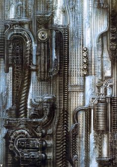 New York by H.R. Giger