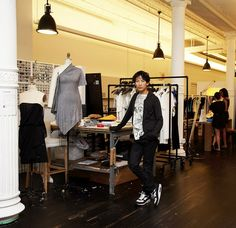 NYC studio of Alexander Wang
