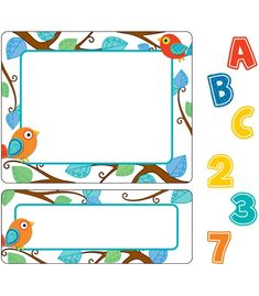 This contemporary Boho Birds sticker value pack will add sparkle and fun to any classroom! Organize and coordinate folders, storage boxes, shelves, or closet space. Includes five sheets of alphabet letters, one sheet of extra letters, one sheet of numbers 0 to 9, six sheets of small labels, and five sheets of large labels. Look for coordinating products in the Boho Birds design to create an exciting classroom theme!