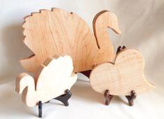 Swan cutting board set Mini cutting board by jobemacstudios
